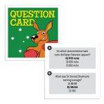 Aussie Trivia Challenge Card